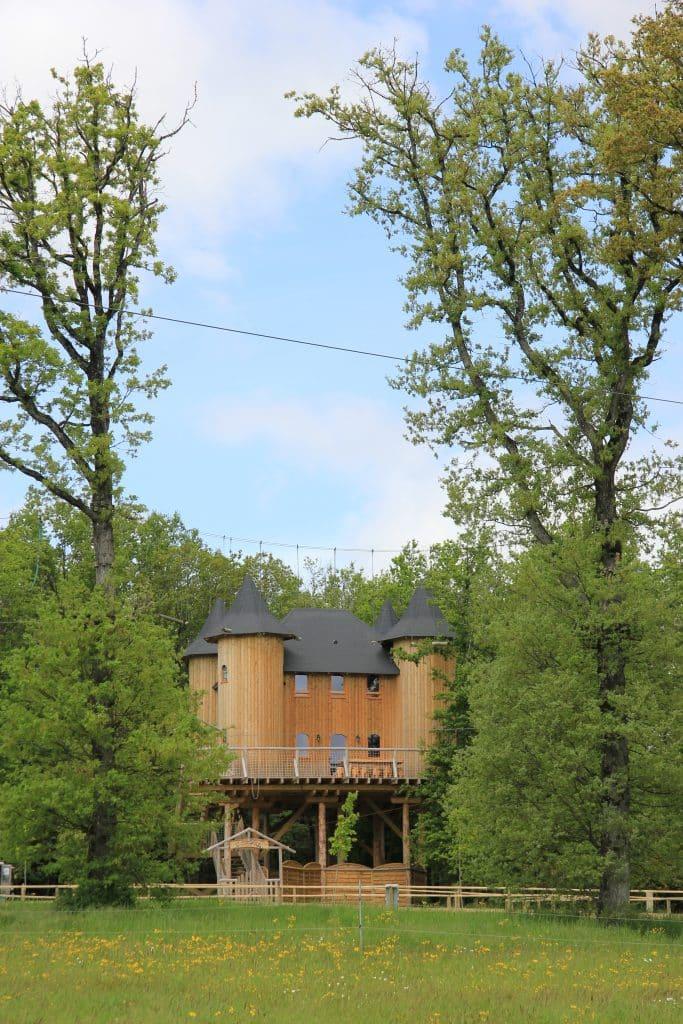 Château dans les arbres