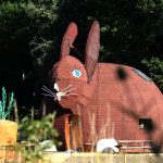 La maison lapin du parc DéfiPlanet' dans la Vienne près de Poitiers (86)