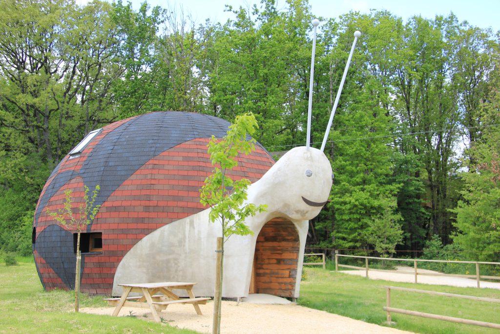 La Maison escargot dans la Vienne