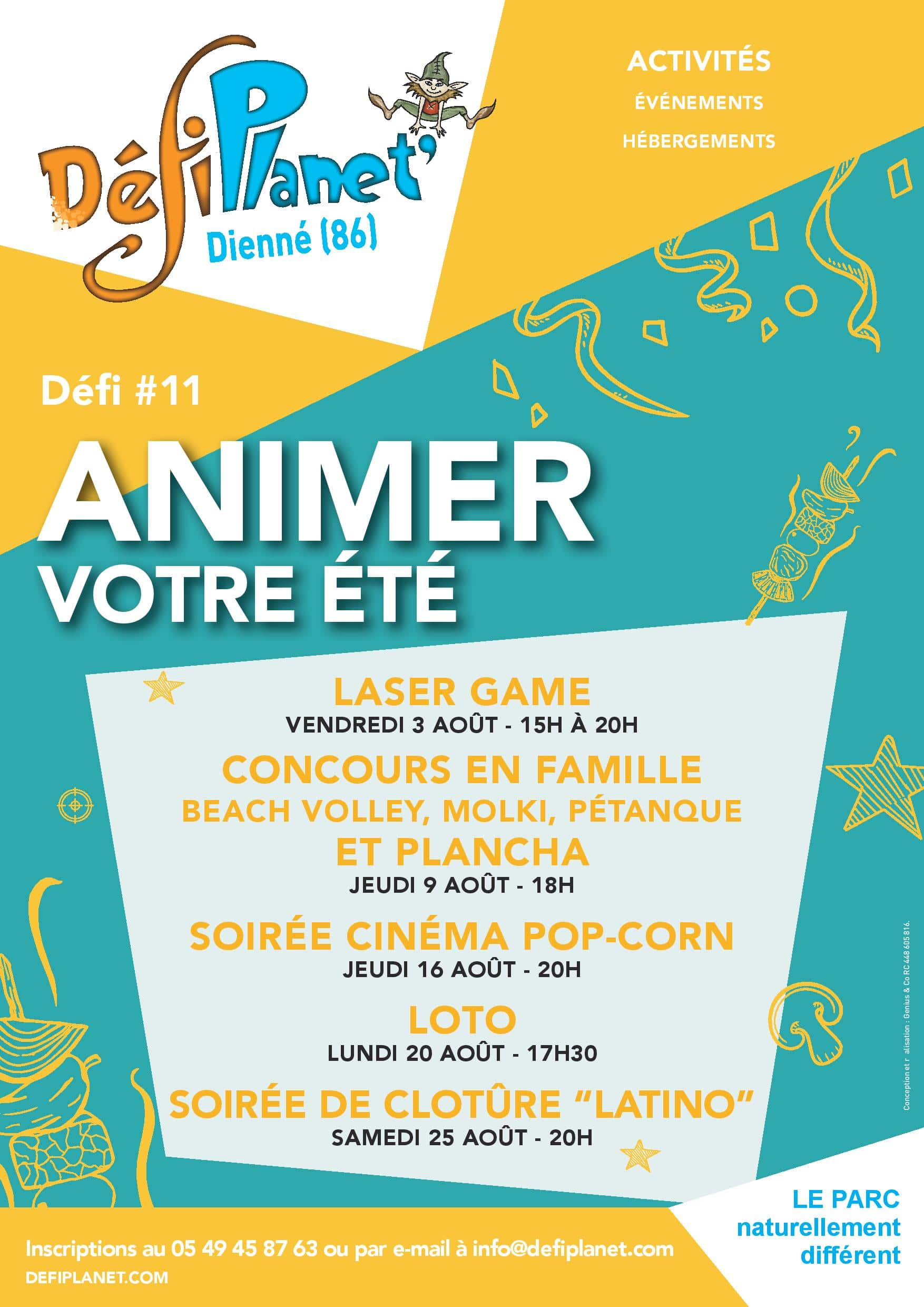 Affiche animations août