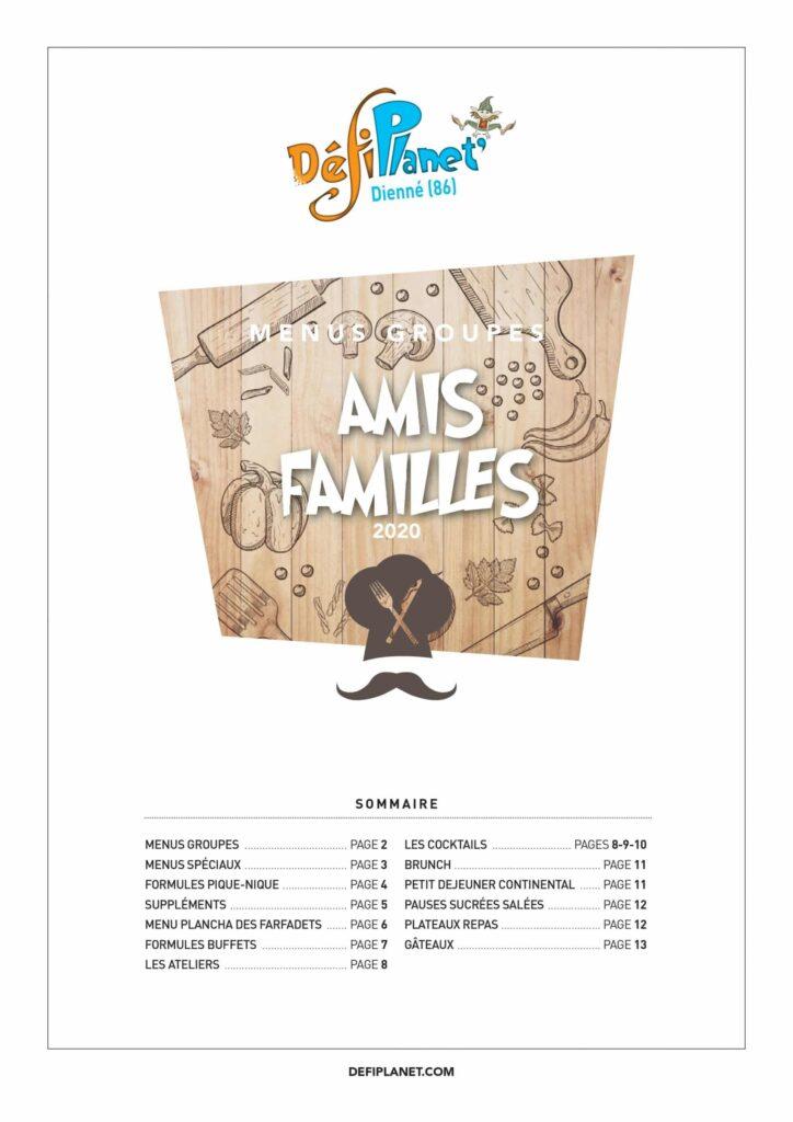 Affiche Familles Amis